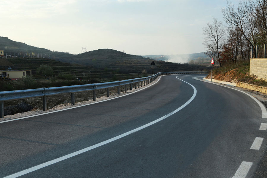 Reconstruction of Road Fushe Kruje Thuman