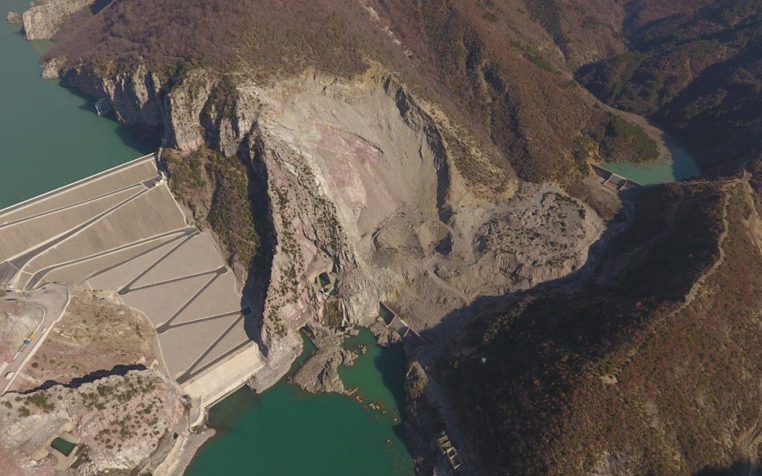 Protection of Dam , Hec Koman