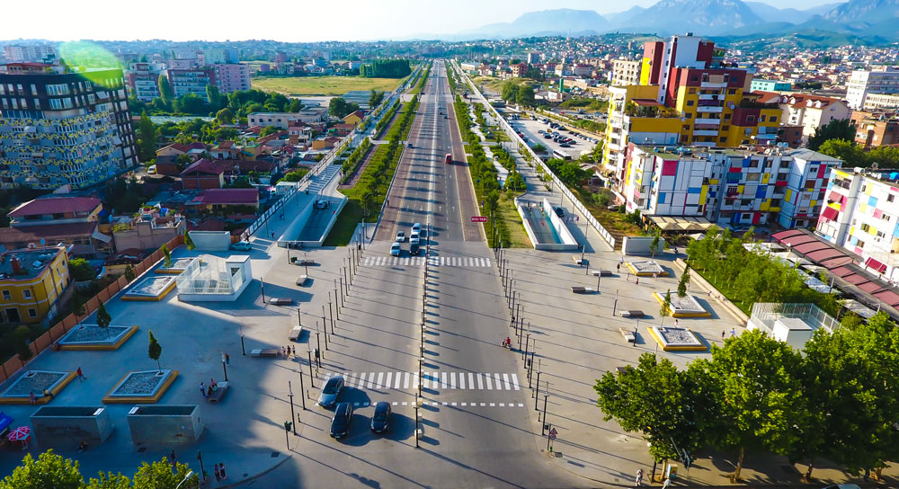 Construction of Tirana Northern Boulevard and Relevant Civil Works
